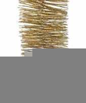 Glitter goud lametta slinger 270 cm trend