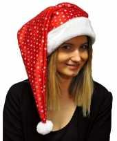 Glitter kerstmuts met pailletten trend