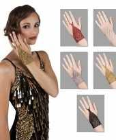 Glitter sieraad kralen handsieraad trend