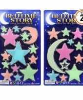 Glow in the dark sterren gekleurd trend