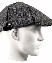 Golfpet grijs voor heren trend
