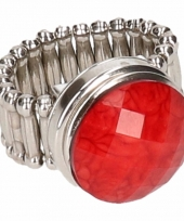Gothic chunk ring voor volwassenen trend 10086164