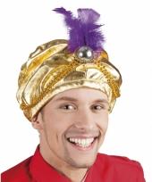 Gouden arabieren hoeden trend