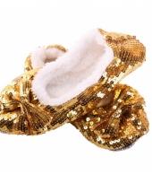 Gouden blingbling sloffen trend