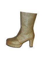 Gouden diva dames laarsjes trend