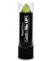 Gouden glitter lippenstick trend