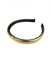 Gouden haarbanden voor dames trend
