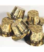 Gouden hoed happy new year trend