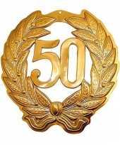 Gouden jubileum krans 50 jaar trend