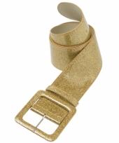 Gouden kleding accessoire riem trend