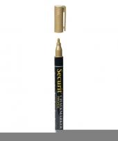Gouden krijtstift ronde punt 1 2 mm trend