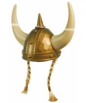 Gouden vikinghelm voor volwassenen trend