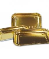 Gourmet schalen goud 3 stuks trend