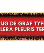 Graf tyfus sticky devil sticker trend