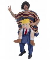 Grappig trump kostuum voor mannen trend