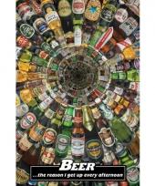 Grappige bier poster trend