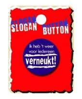 Grappige button ik heb het weer trend