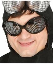 Grappige party bril met vliegen oogjes trend