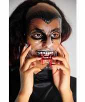 Griezelig vampier masker trend