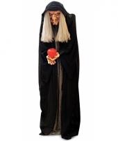 Griezelige heksenpop met licht 100 cm trend