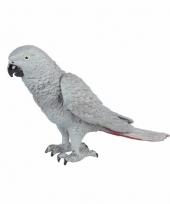 Grijze roodstaart papegaai 15cm trend