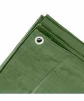 Groen afdekzeil dekzeil 2 x 3 meter trend