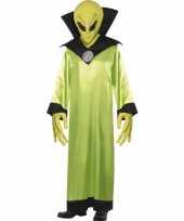 Groen alien kostuum volwassenen trend