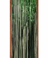 Groen folie deurgordijn trend