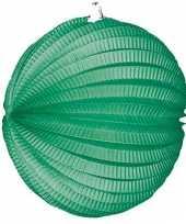 Groen gekleurde feest lampionnen trend