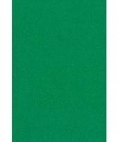 Groen papieren tafelkleed 137 x 274 cm trend