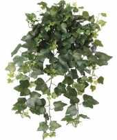 Groene hedera helix klimop kunstplant 65 cm voor buiten trend