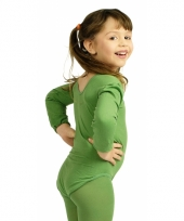 Groene kinder ballet outfit trend