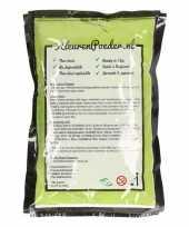 Groene kleurenpoeders 100 gram trend