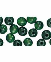 Groene kralenset 52 stuks trend