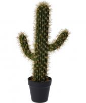 Groene kunstplant cactus saguaro 55 cm trend