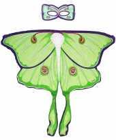 Groene maanvlinder verkleedset voor meisjes trend