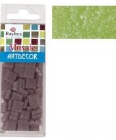 Groene mozaiek steentjes 310 st trend