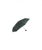 Groene paraplu voor in je tas 92 cm trend