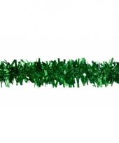 Groene versiering slinger 4 meter trend