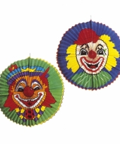 Grote clowns lampion rond trend