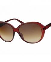 Grote dames zonnebril rood model 0565 trend