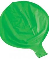 Grote decoratie ballonnen groen trend