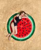 Grote handdoek watermeloen 150 cm trend