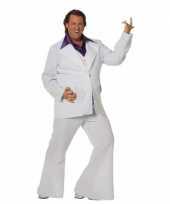 Grote maat disco kostuum voor mannen trend