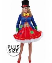 Grote maten clowns jurkje lucky voor dames trend