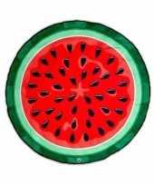 Grote picknickkleed watermeloen 150 cm trend