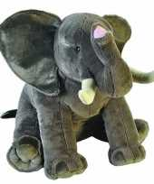 Grote pluche olifant knuffel 70 cm trend