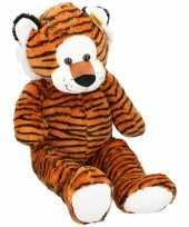 Grote pluche tijger knuffeldier 100 cm speelgoed trend