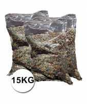 Grote verpakking confetti snippers ca 15 kilo trend