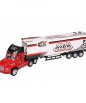 Grote vrachtwagen met trailer 72 cm trend